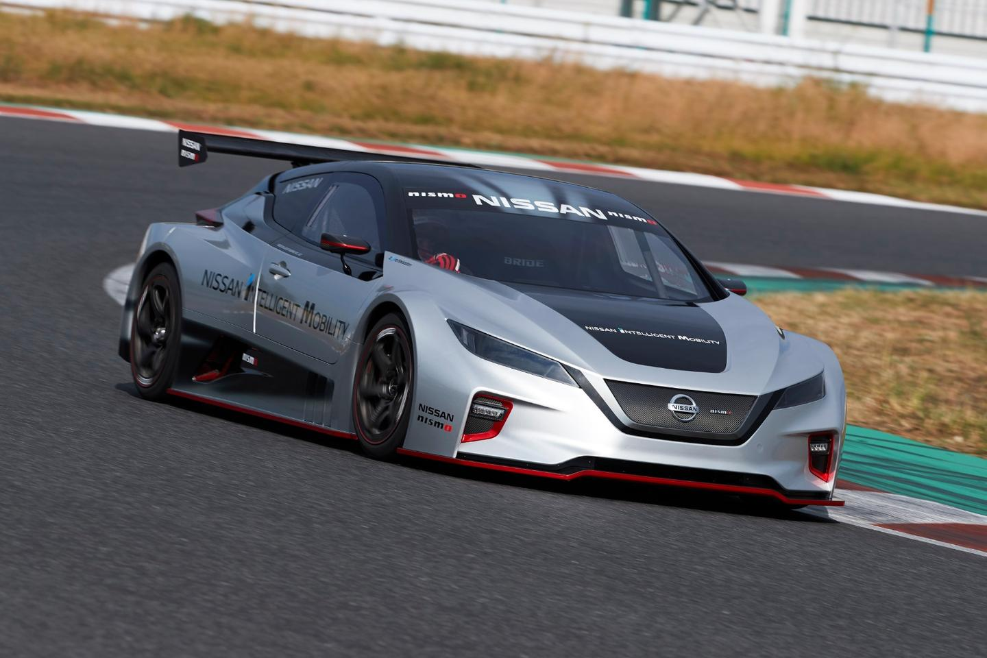 Nissan's latest Leaf Nismo RC produces 240 kW of power and 640 Nm of torque