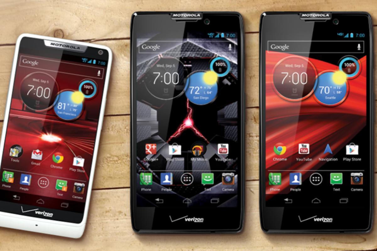 The RAZR M, HD and MAXX HD are the latest additions to Motorola's RAZR line