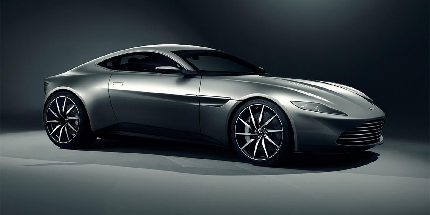 The Aston Martin DB10 was designed espcially for the latest Bond picture (Image: Aston Martin)