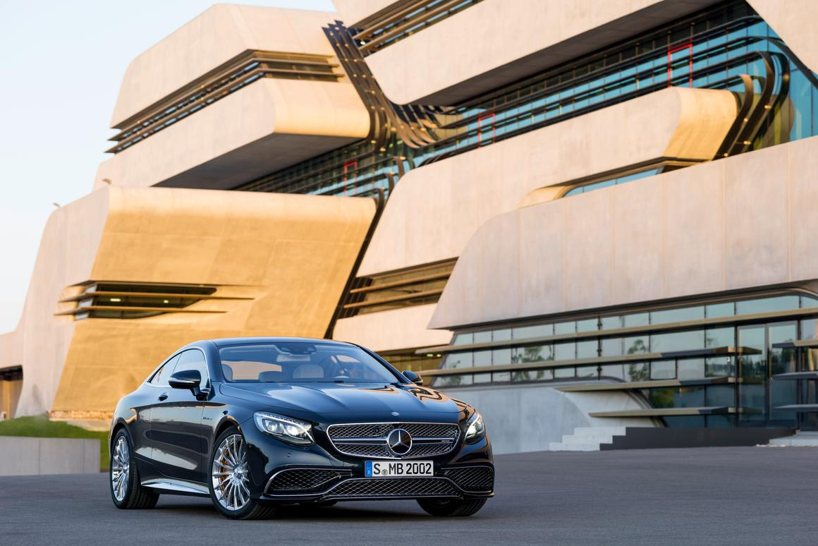The Mercedes-Benz S65 AMG Coupe