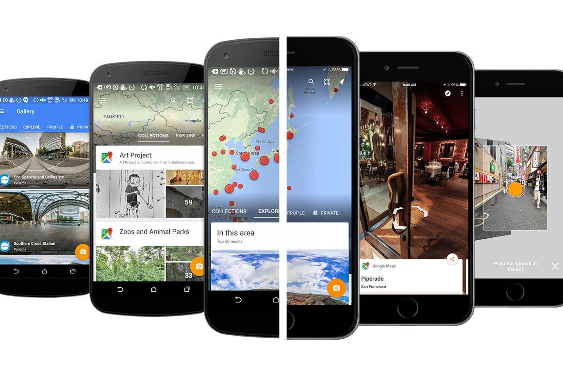 The new Google Street View app allows users to access Street View content via other means than a destination-first approach, as is the case in the existing Google Maps app