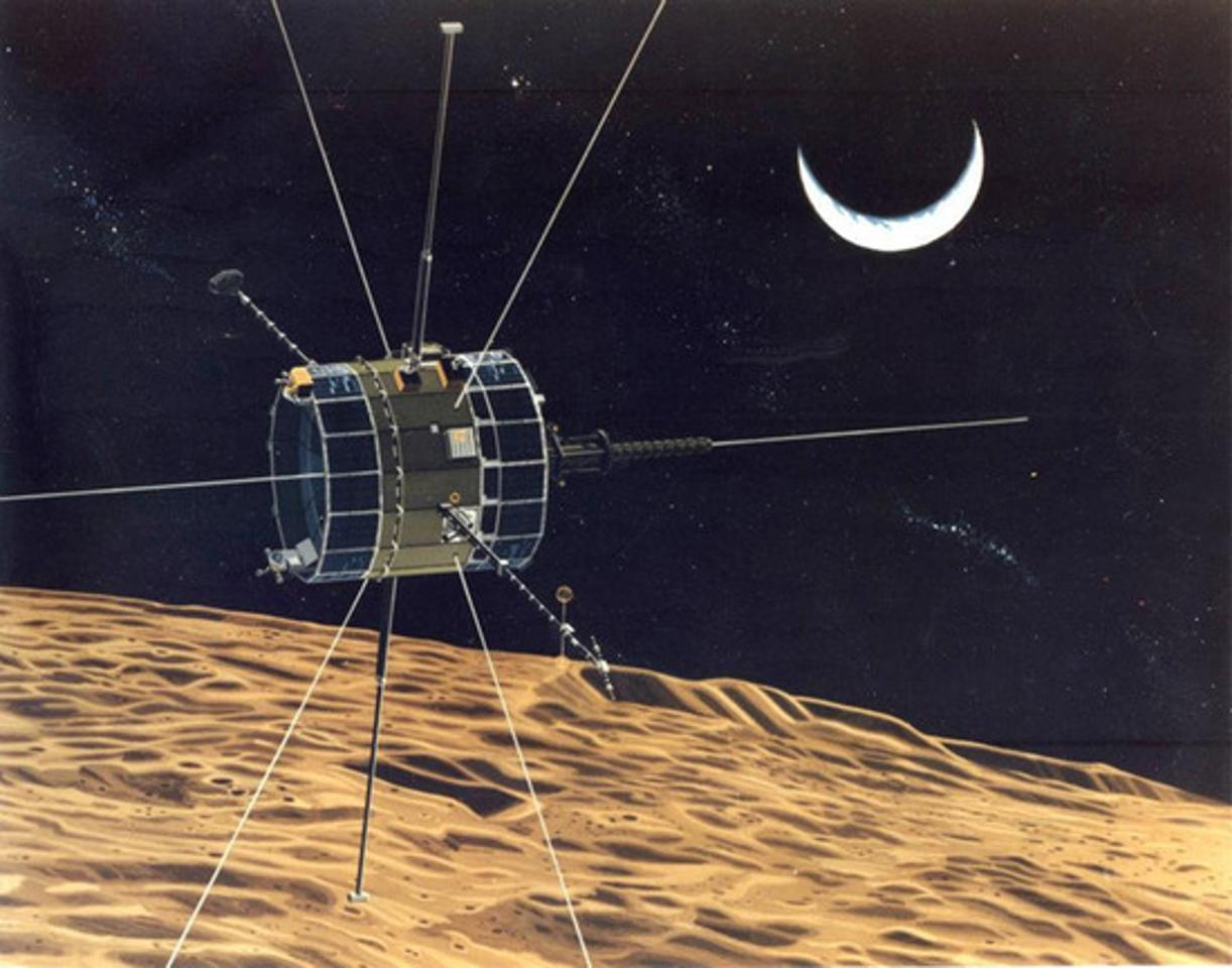 The Reboot Project will send the ISEE-3 on a flyby past the Moon to place it in a new orbit (Image: NASA)