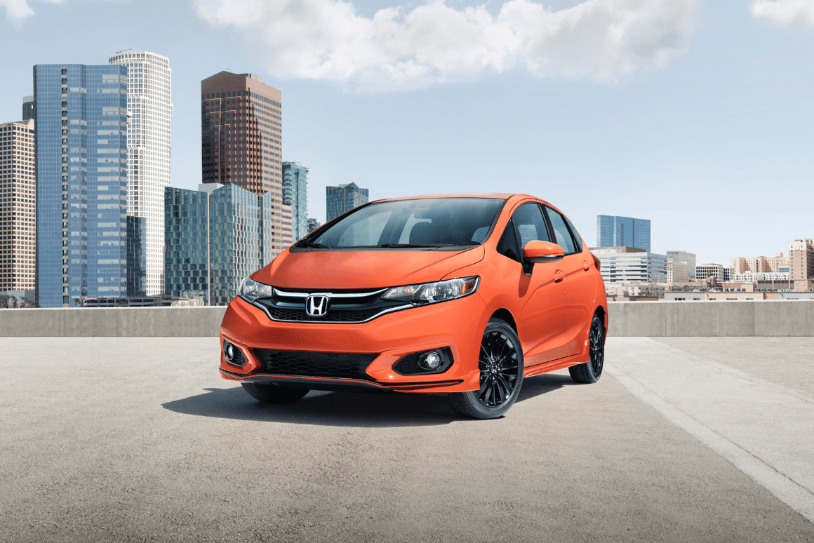 The refreshed Honda Fit