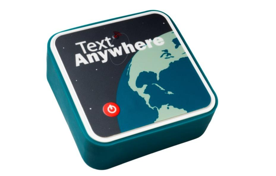 The Text Anywhere lets your phone, tablet or laptop act as a satellite messenger