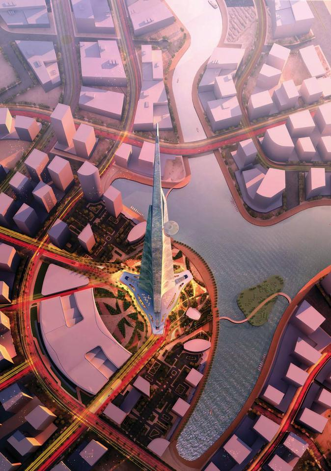 The Kingdom Tower will be the centerpiece of Kingdom City