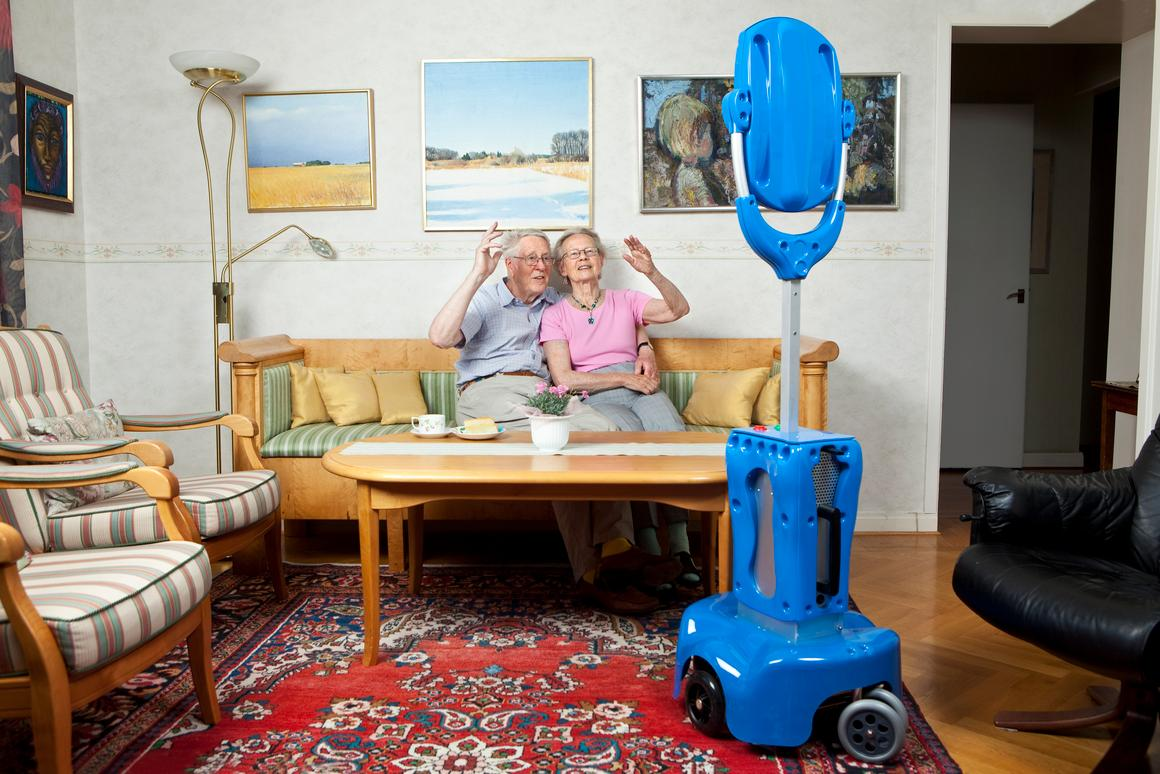 GiraffPlus is an assisted living system for the elderly