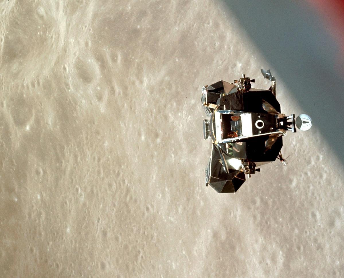 Apollo 10 was the final rehearsal for the Apollo 11 landing in 1969