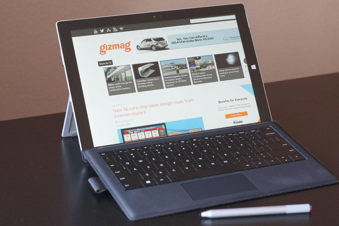 Gizmag reviews Microsoft's new and improved take on the 2-in-1, the Surface Pro 3