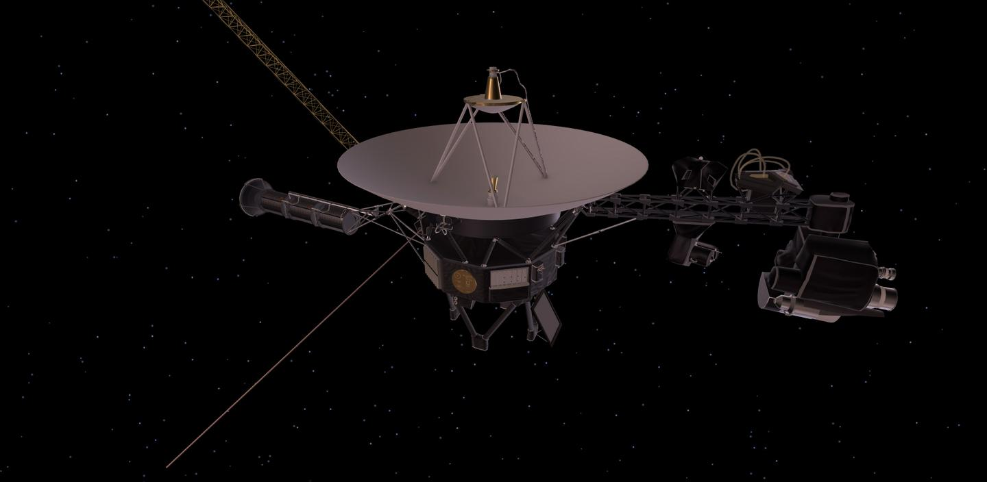 Artist's concept of a Voyager sapcecraft