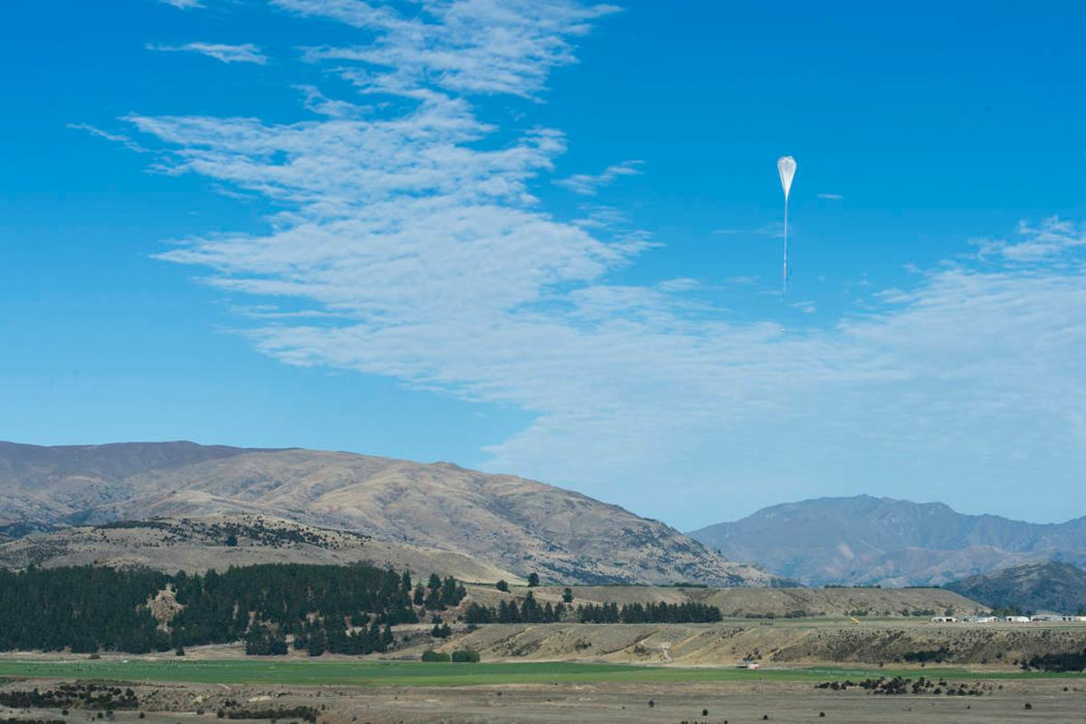 The Super Pressure Balloon launches from Wanaka, New Zealand earlier this year