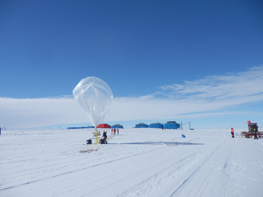Halley VI is located on the Brunt Ice Shelf, which is moving toward the sea at a rate of 400 meters (1,300 feet) per annum