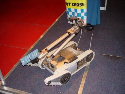 The iRobot PackBot EOD