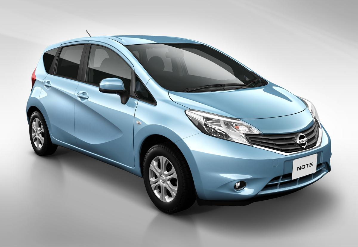 """The new Nissan Note sports a new """"Squash Line"""" exterior character line"""