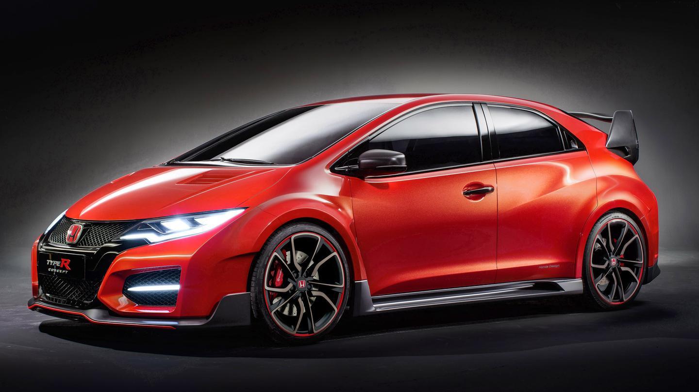 The Honda Civic Type R Concept