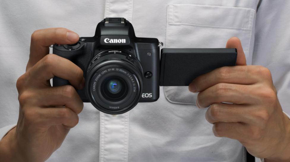 The EOS M50 is the first M series capable of recording 4K video