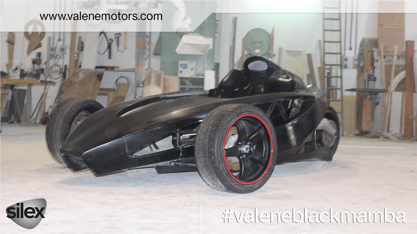 Thethree-wheel Black Mambaelectric vehicle aims to combine the thrill of high-performance motorbikes with some of the perks of automobile-driving