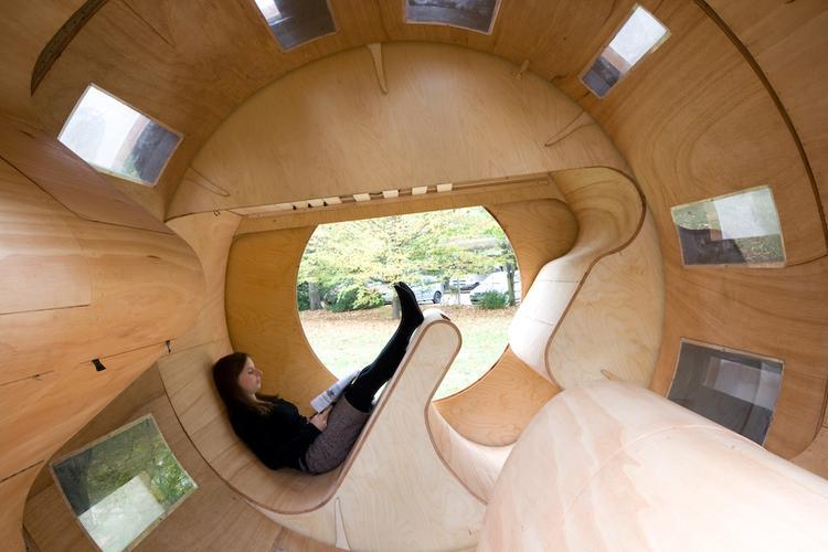 Roll it flexible housing solution (Image: University of Karlsruhe)