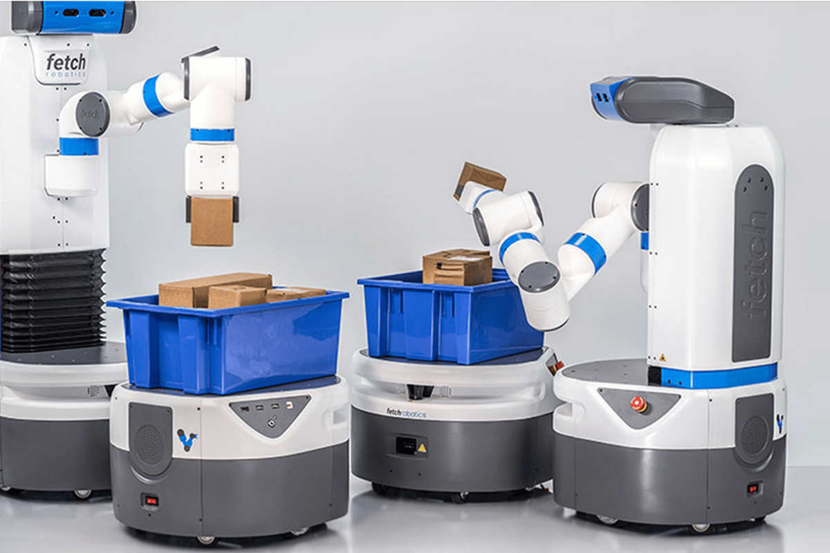 Fetch and Freight are a robotic team used in warehouse work