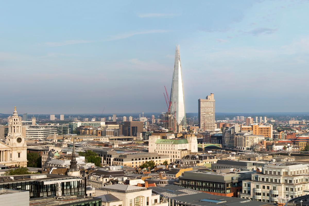 The Shard, London, by Renzo Piano, was amongst RIBA's 56 winners (Photo: Morley von Sternberg)