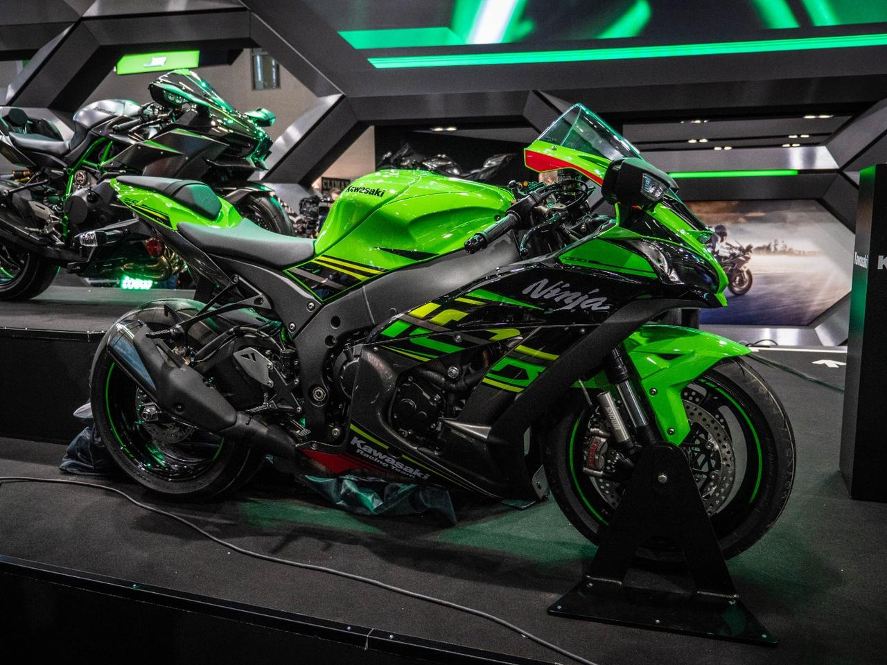 The 2019 ZX-10R: more power