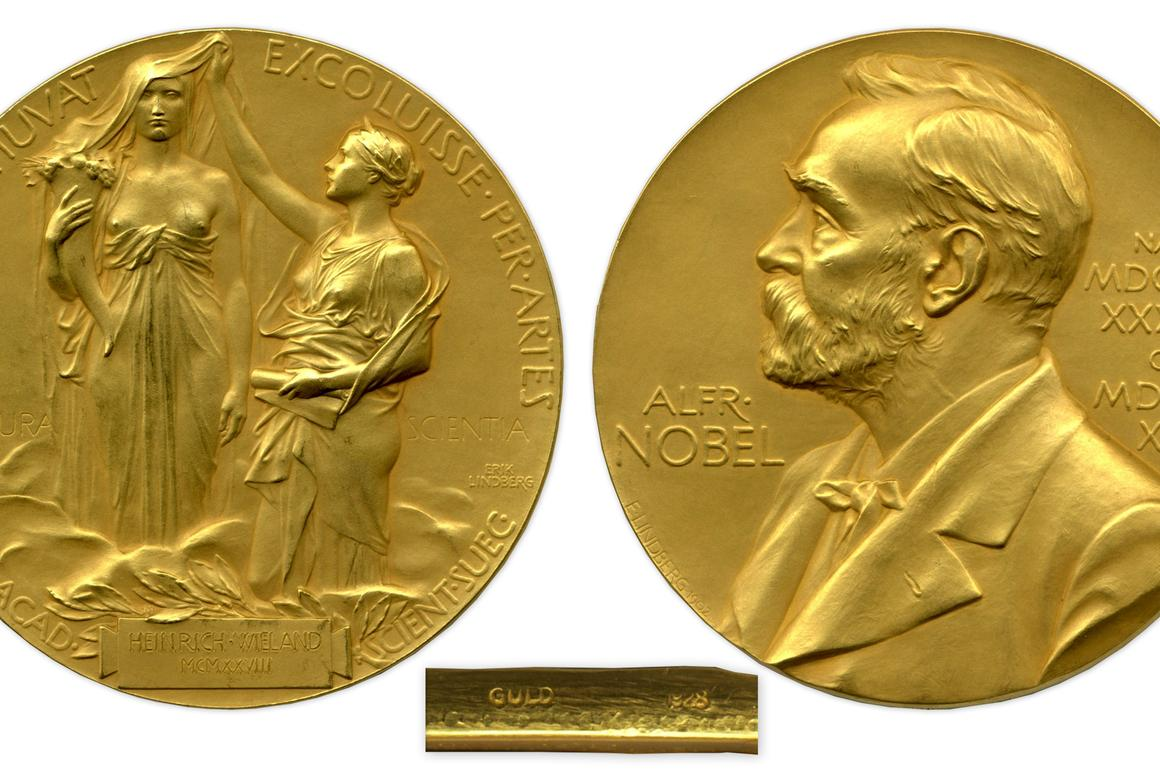 The 1927 Nobel Prize for Chemistry went to German biochemist Dr Heinrich Otto Wieland