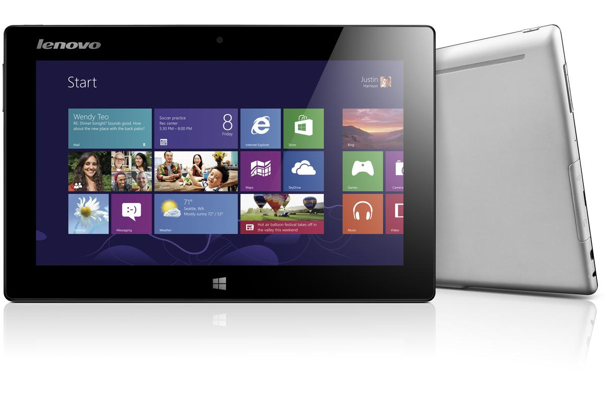 Lenovo's Miix multi-mode Windows 8 tablet