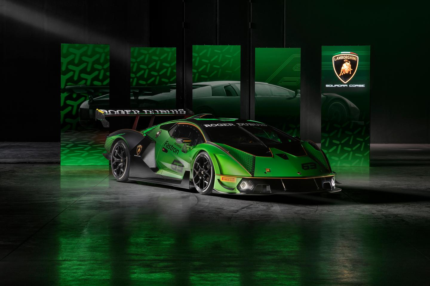 Made for the track only, the Essenza SCV12 features 1,200 kg of downforce and a 1.66 hp/kg ratio
