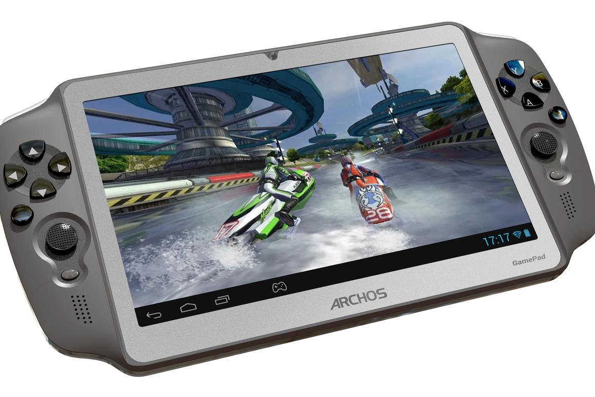 ARCHOS Android GamePad handheld console released