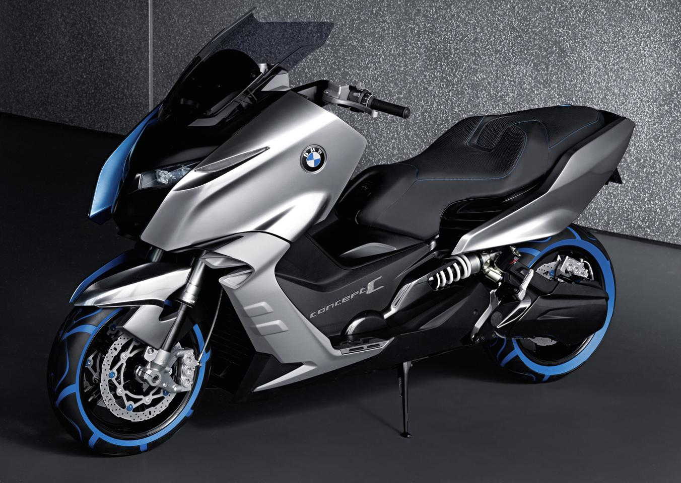 BMW's Concept C Maxi-scooter