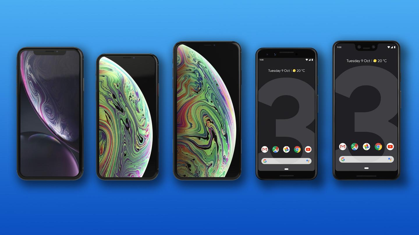 New Atlas compares the specs and features of the Google Pixel 3 and 3 XL to the iPhone XR, XS and XS Max