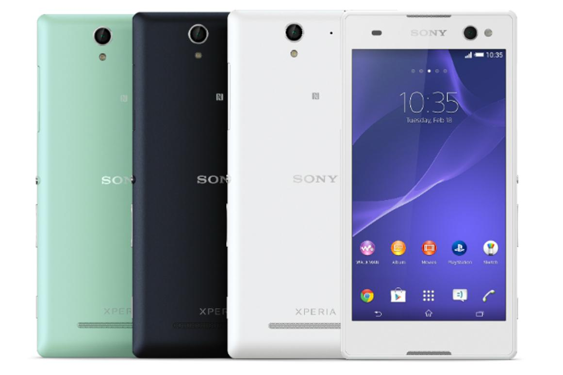 "Sony says its new Xperia C3 is the ""world's best selfie smartphone"""