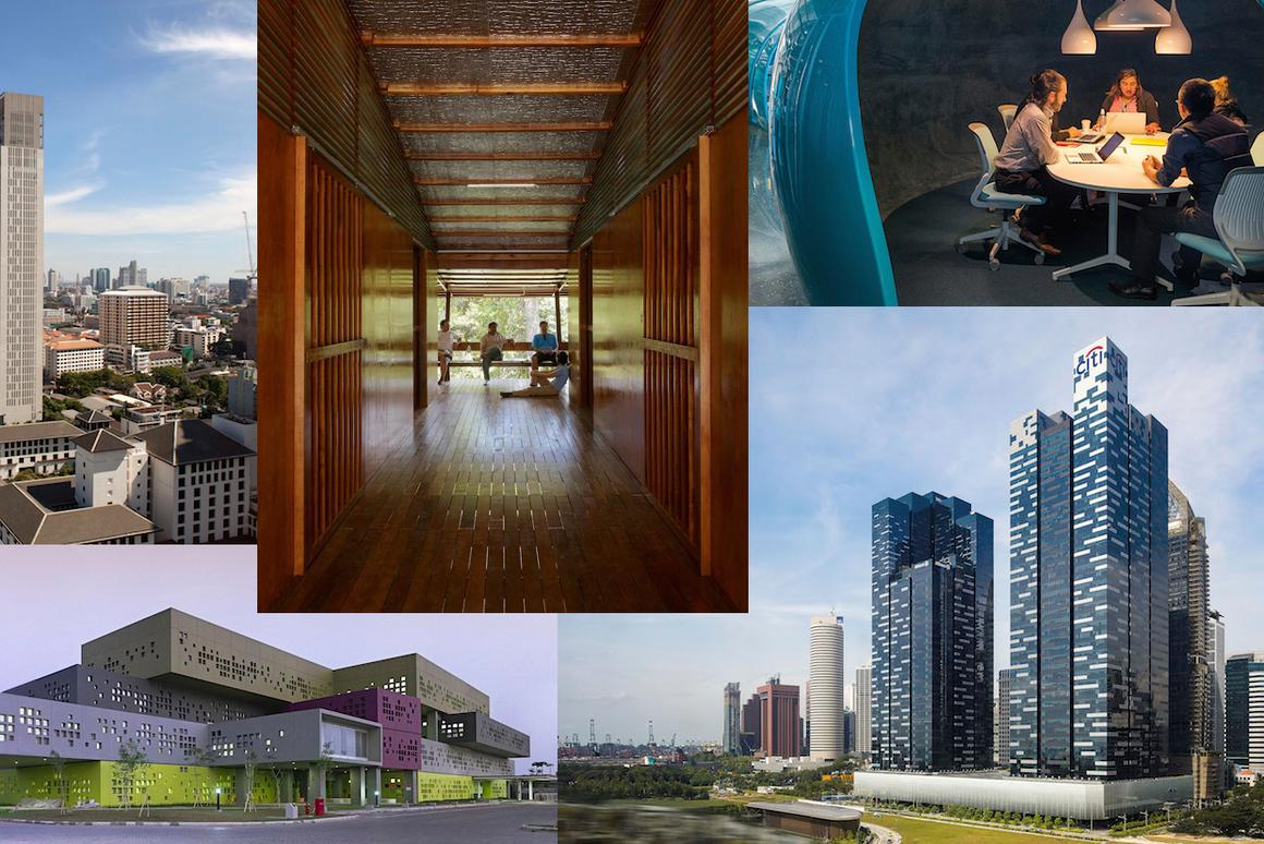 The Australian Institute of Architects has revealed the five winners (plus six runner-up commendations) of its 2014 International Awards