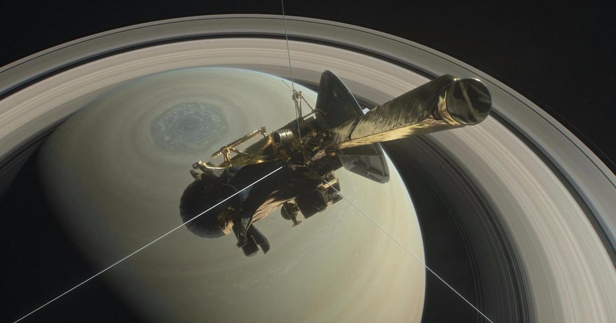 Into the great unknown: Cassini, a bold mission to study Saturn