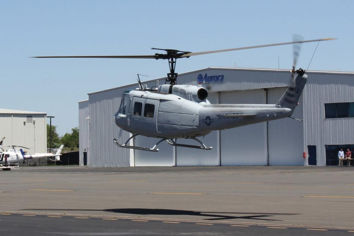 Aurora is installing its TALOS system in a UH-1H helicopter