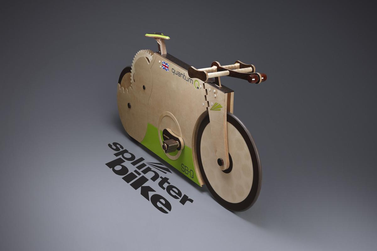 SplinterBike designer and builder Michael Thompson has launched a special Quantum edition for the 2012 London Olympics, which will be available for public test rides at the Adain Avion event