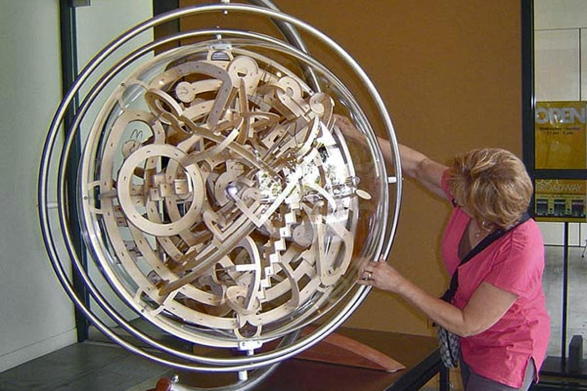 The Superplexus Vortex is an incredible puzzle that could give you hours of pleasure...or frustration