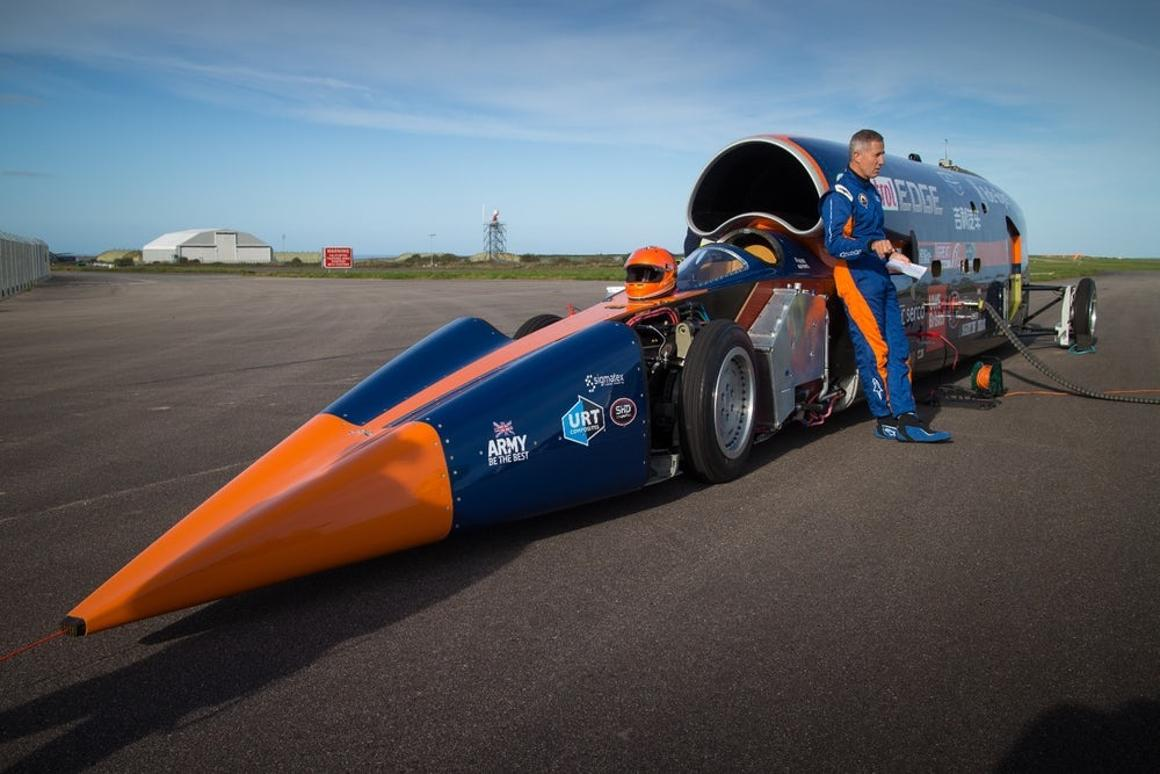 The supersonic car project closed shop due top lack of funds