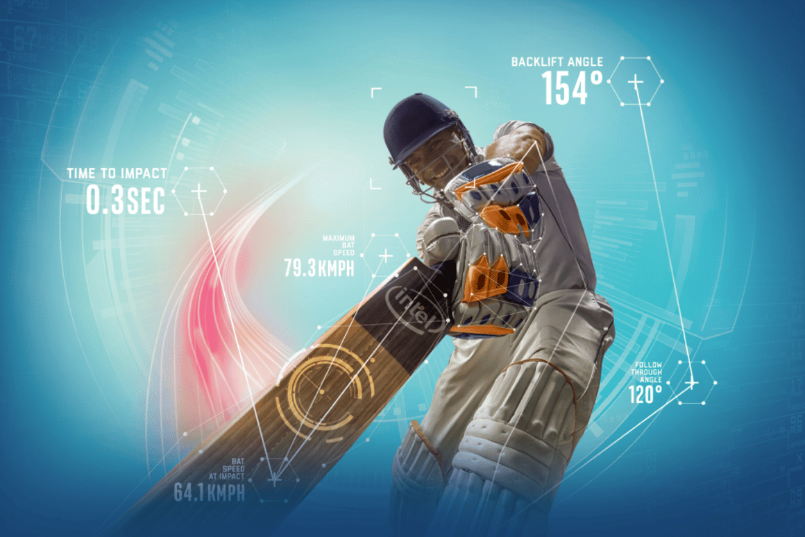 Intel wants drones, VR and smart bats to improve cricket data tracking