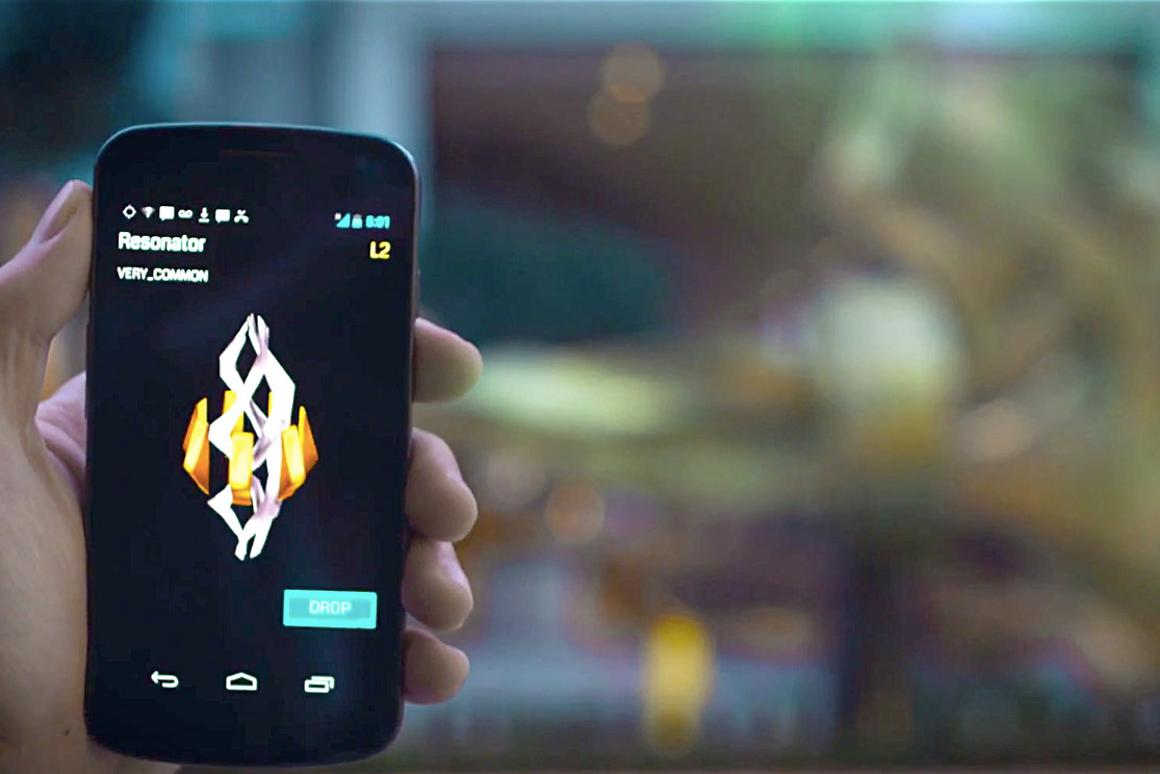 Ingress is less video game, and more location-based strategy