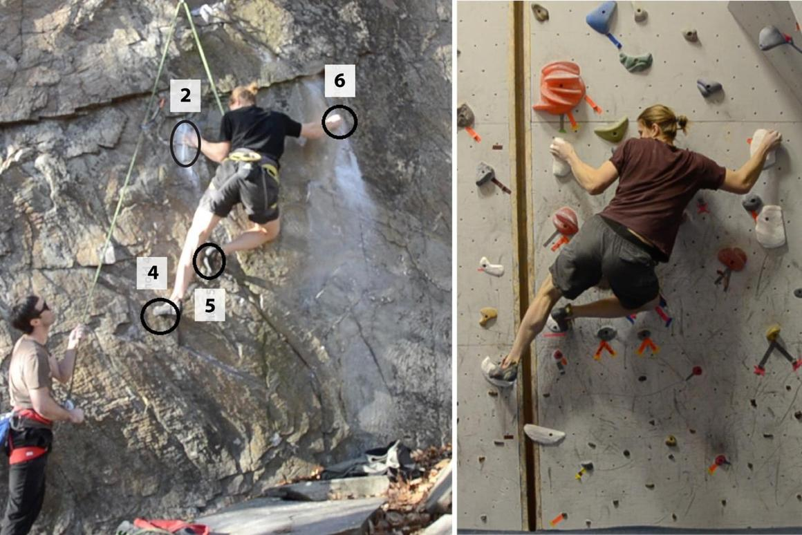 Researchers have recreated popular rock climbing routes indoors by studying how climbers interact with the formation and taking 3D scans of those key areas