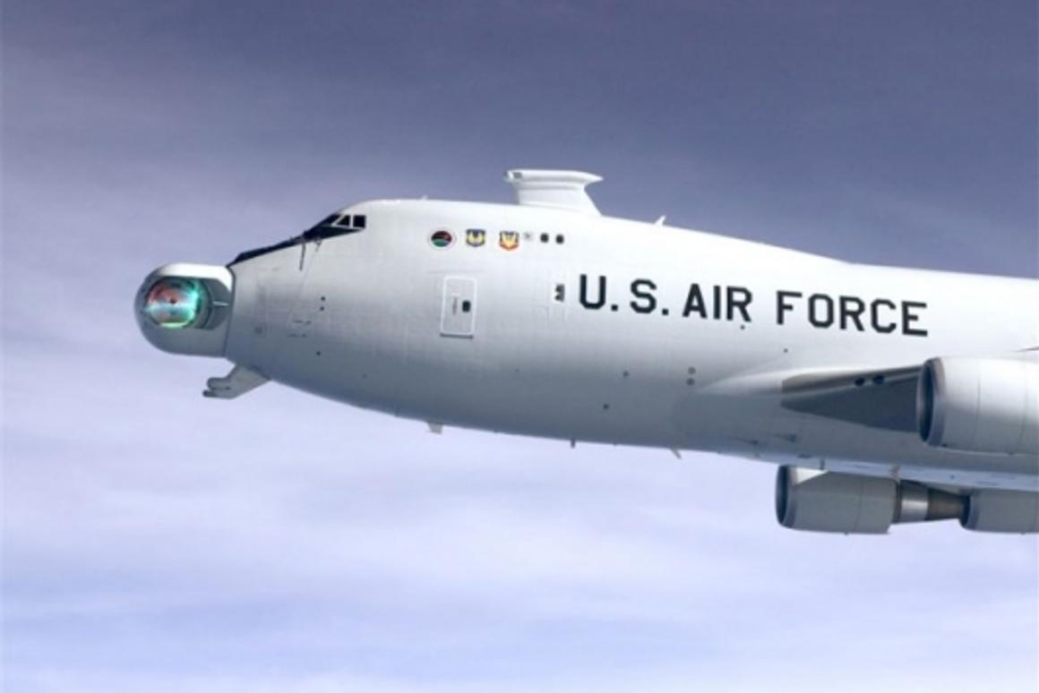 Airborne LaserPhoto: USAF Photo by Jim Shryne