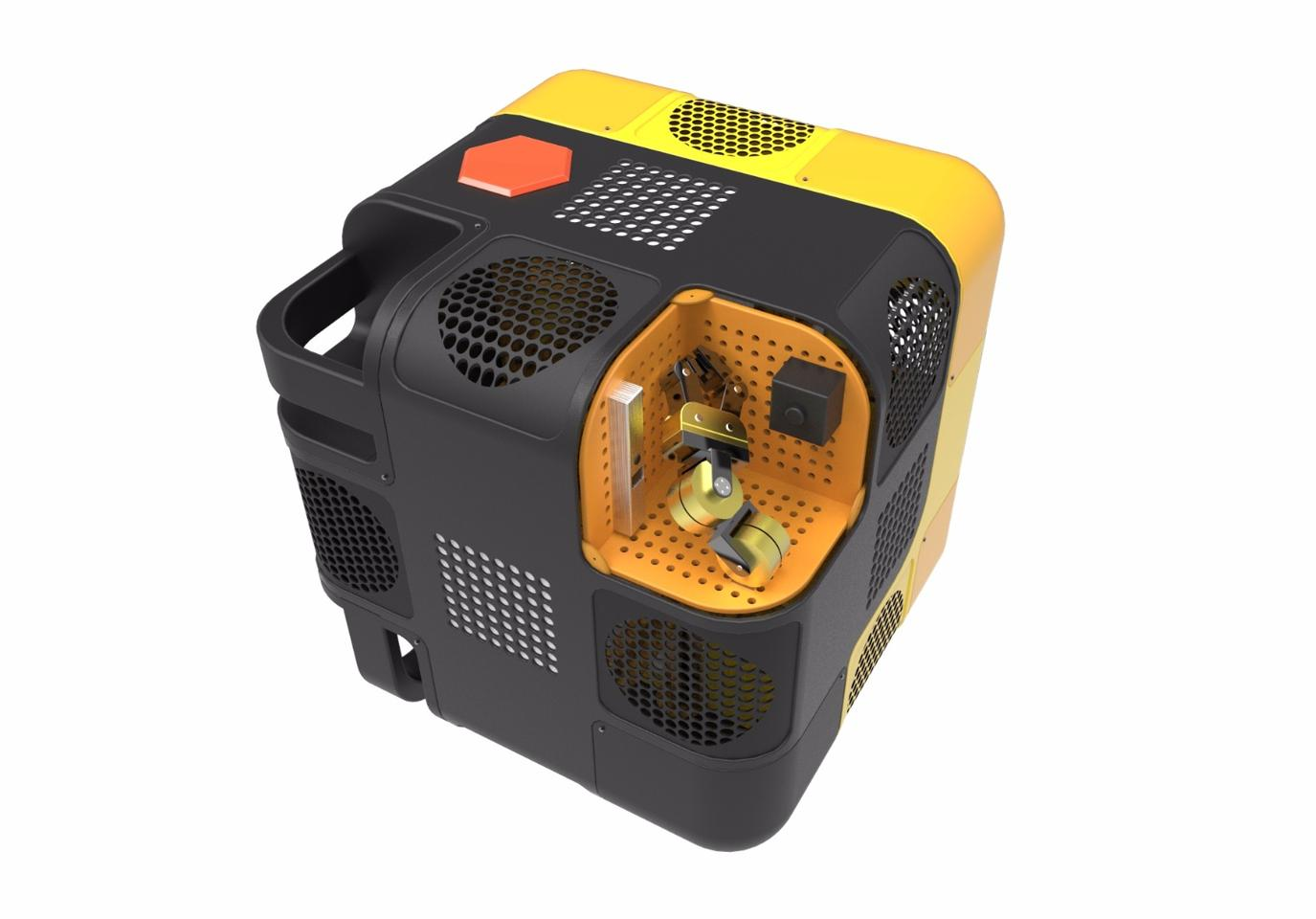 Set to launch next year, Astrobee is a compact, cubed robot measuring one foot (30.5 cm) along each edge