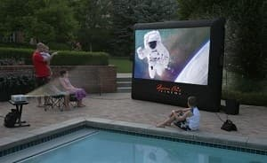 Open Air Cinema's Inflatable Outdoor movie theater