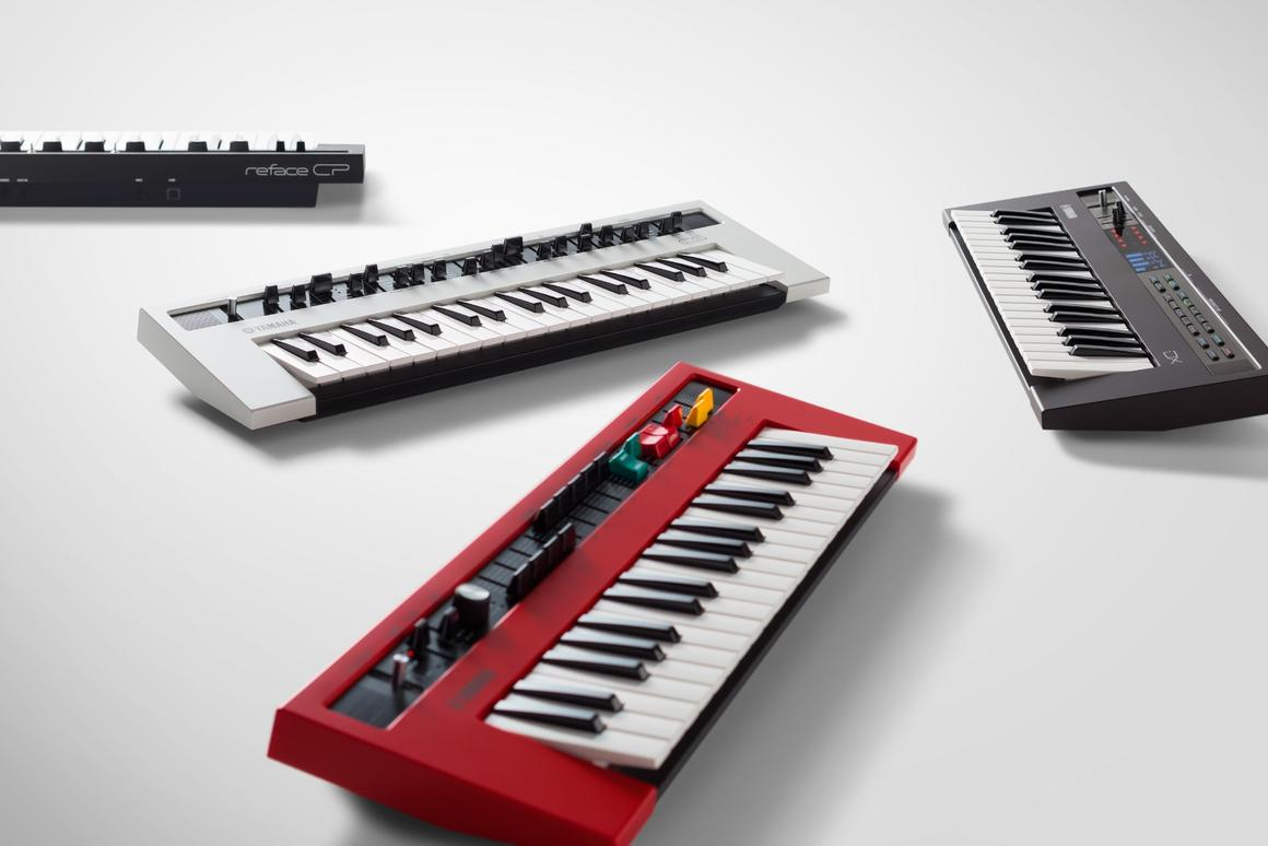 Yamaha says its new reface series keyboards offer portability and a powerful sound