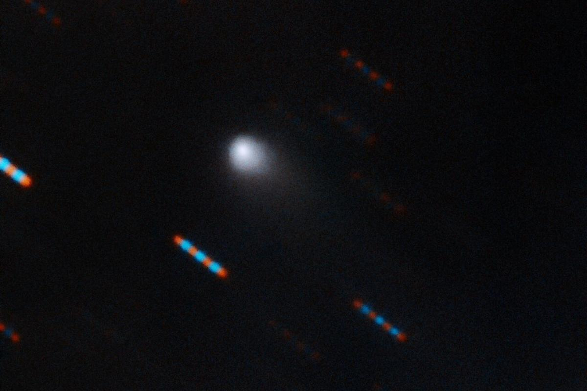 The first-ever comet from beyond our solar system, 2I/Borisov, as imaged by the Gemini Observatory
