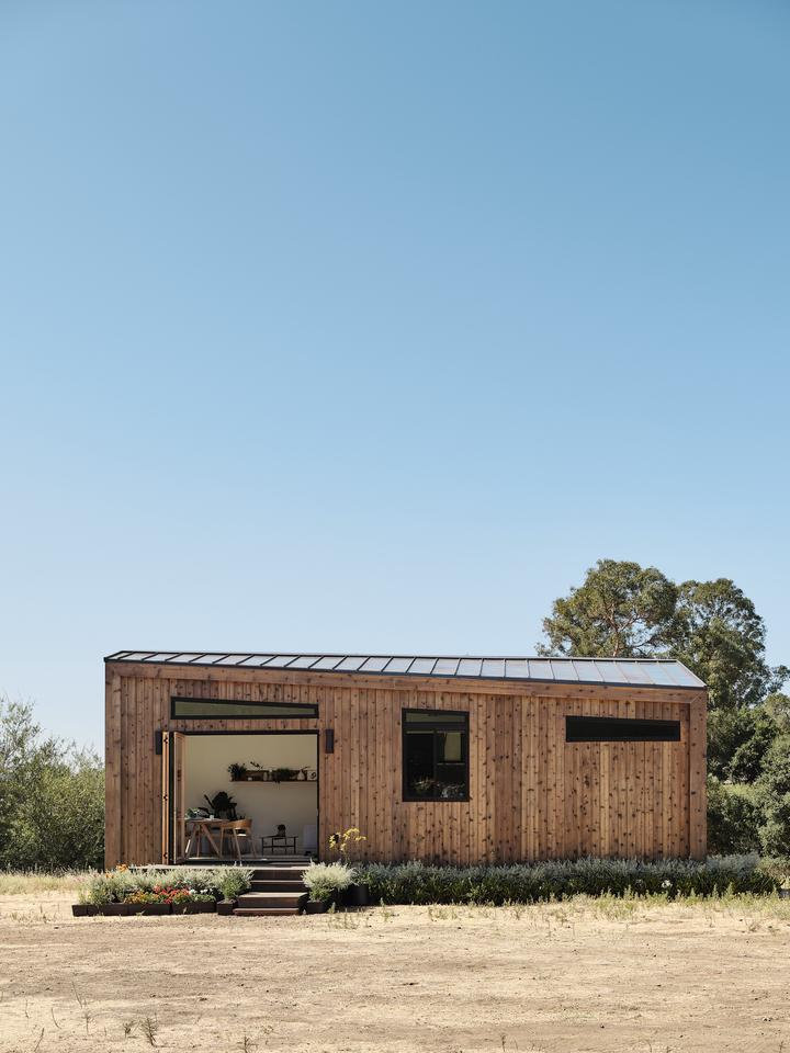 The Koto X Abodu prefabricated tiny house can be installed in two weeks