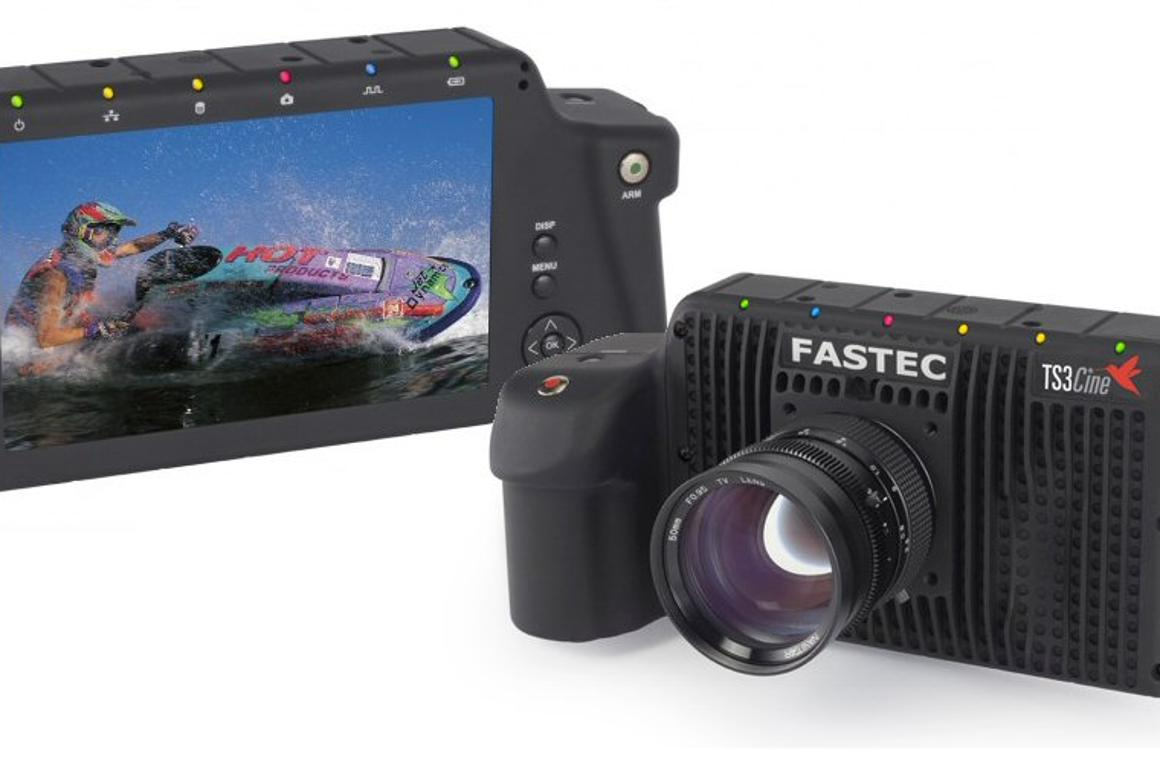 Fastec Imaging Corporation has developed a handheld digital camera capable of recording 720p at 720 frames per second