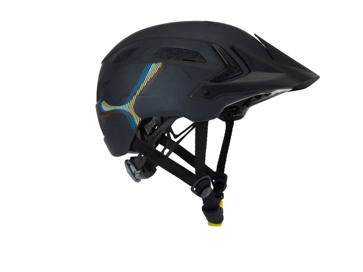 Bike configuration with visor
