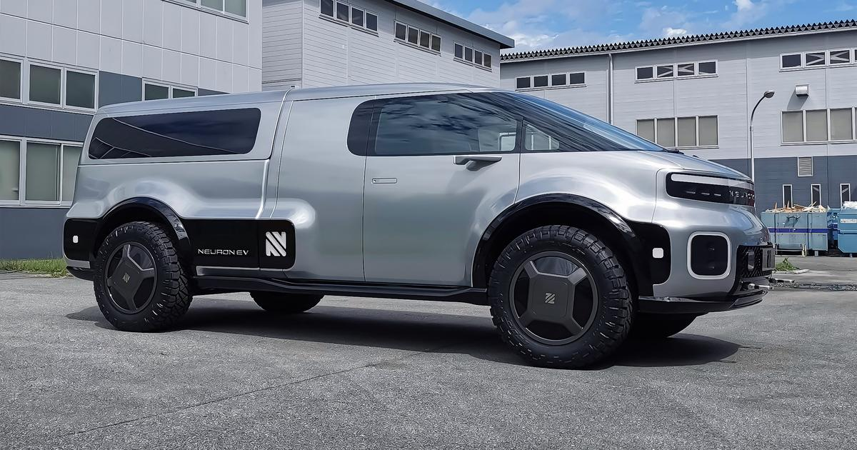 Unlike Tesla Cybertruck, Neuron's T/One looks like an electric pickup