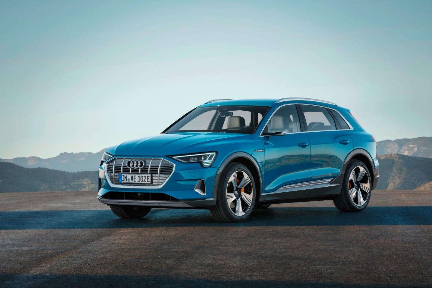 2019 Audi e-tron: AWD electric SUV
